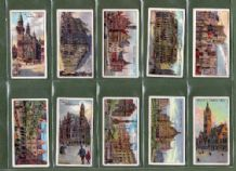 Tobacco cigarette cards  Gems of Belgian Architecture  1915